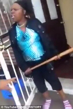 selfie1 Guy Films Fight Between Mother And Girlfriend With Selfie Stick, Things Get Messy