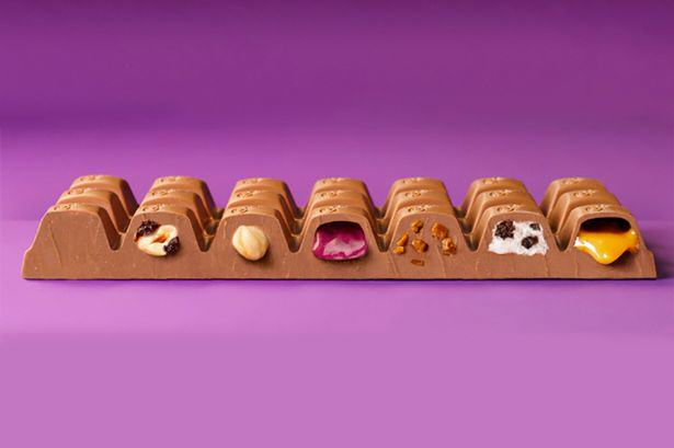 New Dairy Milk Bar Has Seven Different Fillings And My Mouth Is Watering seven dm1