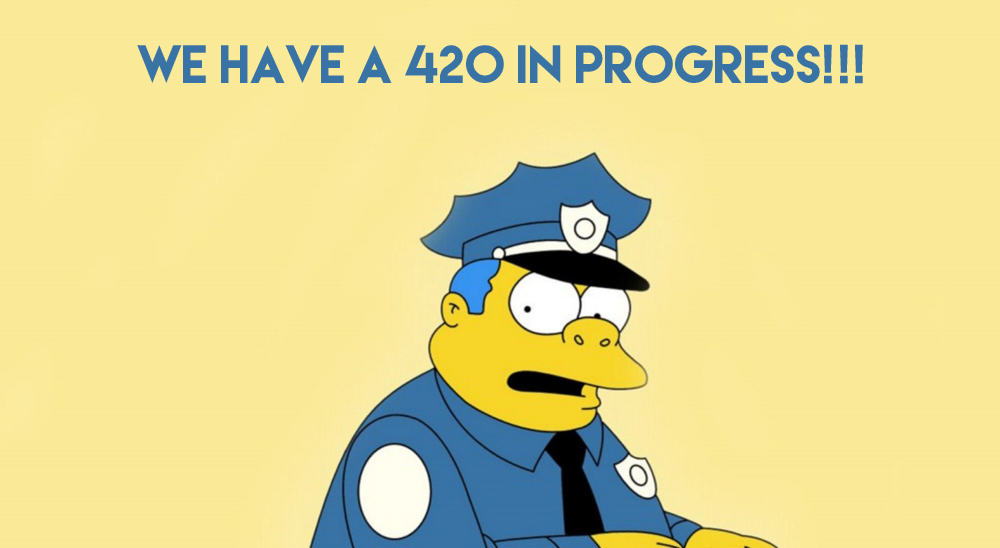 simpsons mac wallpaper chief clancy wiggum other copy The History Of 4/20 Day And How The Name Caught On