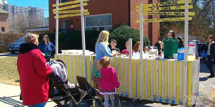 stand 5 Year Olds Lemonade Stand Raises $25K For Brothers Disability