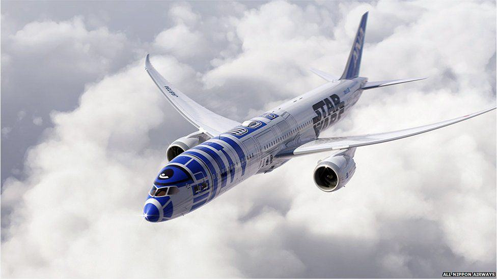 Japanese Airline Announce Plans For Star Wars Themed Plane, Obviously Looks Epic star wars1