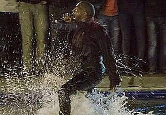 westWEBTHUMBNEW Kanye West Has To Be Rescued After Jumping Into Lake During Performance In Armenia