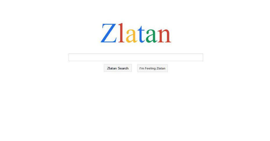 zlatan Zlatan Ibrahimovic Now Has His Own Search Engine Because Zlatan
