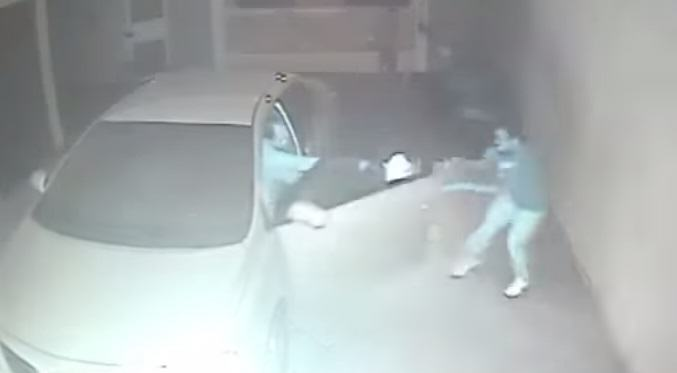1120 Robbers Try To Steal This Brazilian Guys Car From His Garage   Until He Opens Fire