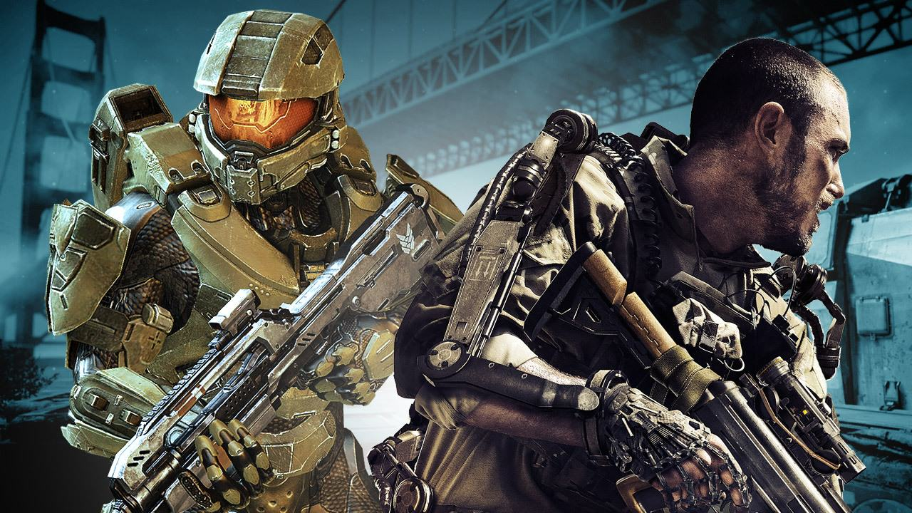 1134 Halos Master Chief Takes On Call Of Duty Noobs In Crazy Video