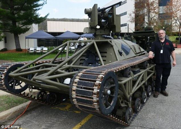 1136 Ripsaw: The New Drone Tank Ready To Lead US Army Into Battle