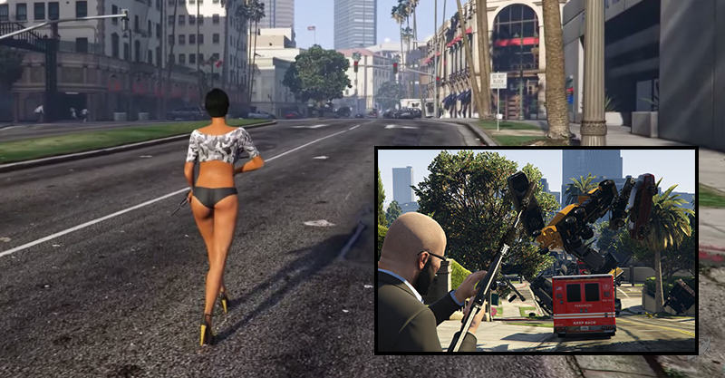 147 New GTA V Mod Lets You Fire Cars Out Of Cannons Because F*ck It