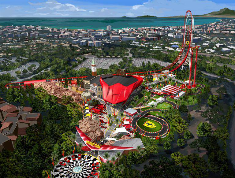 161 Car Based Theme Park Ferrariland Is Due To Open In Europe Next Year
