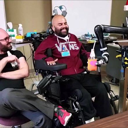 78 Paralysed Man Drinks A Beer Using Mind Control