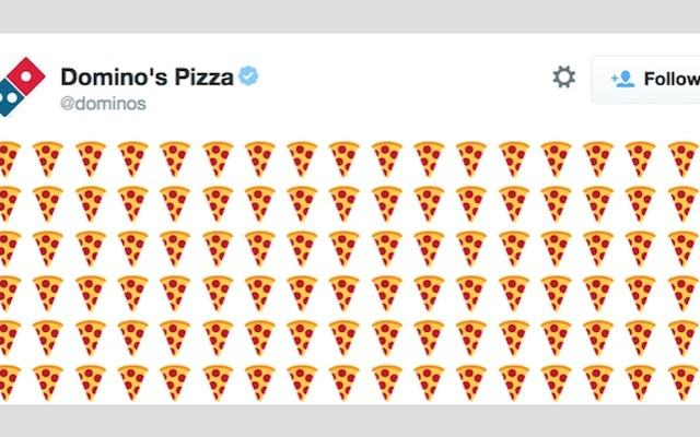 Dominos emoji 640x400 U.S Customers Will Soon Be Able To Order A Pizza Just By Tweeting The Pizza Emoji