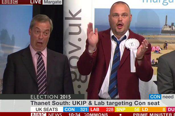 Murray Farage Al Murray Had The Best Reaction To Nigel Farage Losing