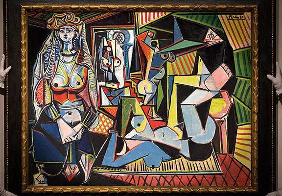 Picasso painting WEB This Picasso Just Became The Most Expensive Artwork Ever Sold At Auction