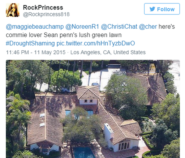 Screen Shot 2015 05 20 at 13.29.34 California Residents Resort To #DroughtShaming Celebrities Who Are Wasting Water