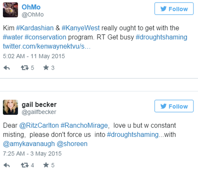 Screen Shot 2015 05 20 at 13.29.49 California Residents Resort To #DroughtShaming Celebrities Who Are Wasting Water