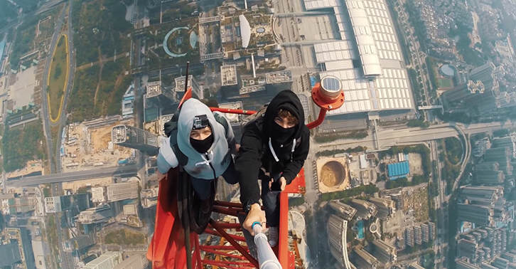 These Two Lads Climb The Second Tallest Building In The World TN129