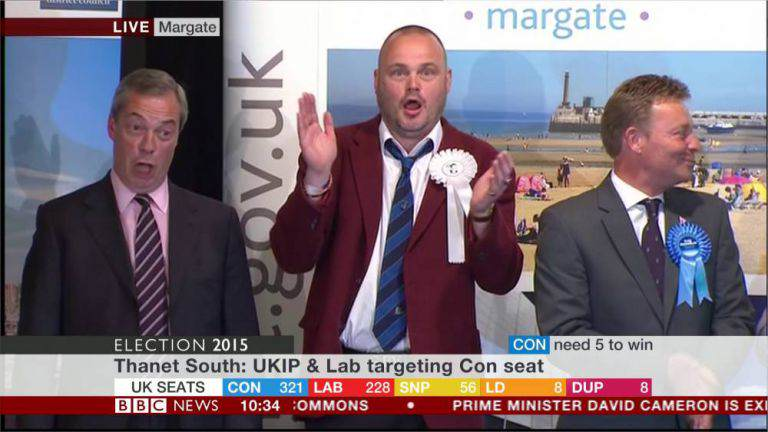 ad 168387185 Nigel Farage Fails To Become An MP, Loses South Thanet Seat