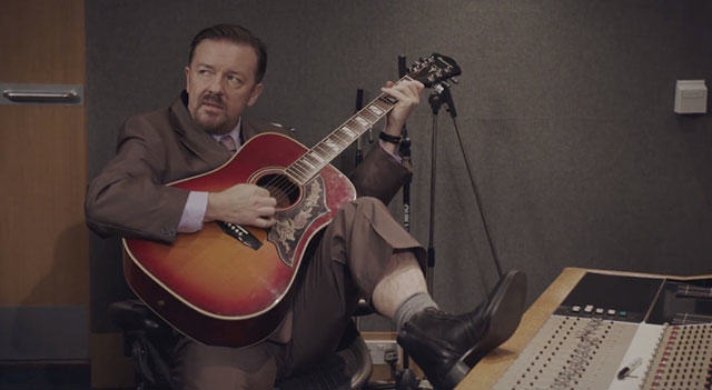 david brent return thumb 640x351 5038 Ricky Gervais Secures Funding For The Office Film