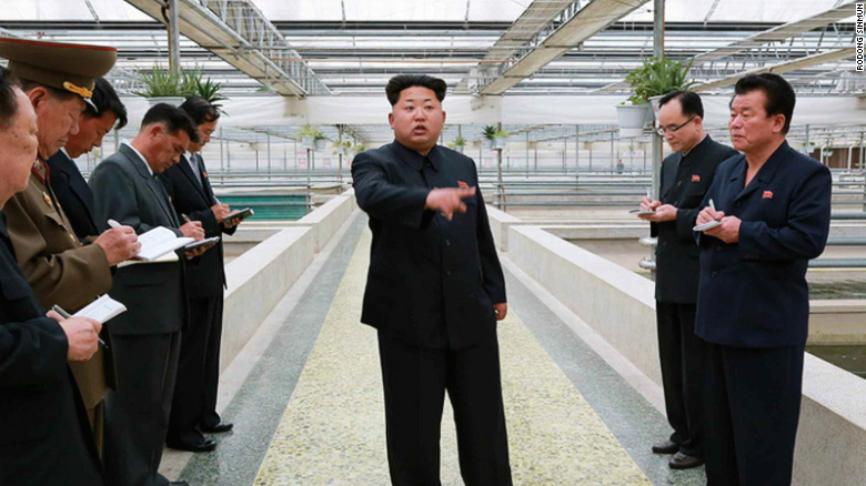 Kim Jong Un Is P*ssed At A Turtle Farm For Not Breeding His Lobsters kim jong un lobster 1