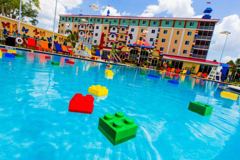 lego hotel 3 Worlds Biggest LEGO Hotel Opens In Florida, Looks AWESOME