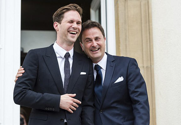 luxembourg pm WEB 2 Luxembourg Prime Minister Marries Male Partner One Year After Nation Approves Same Sex Marriage
