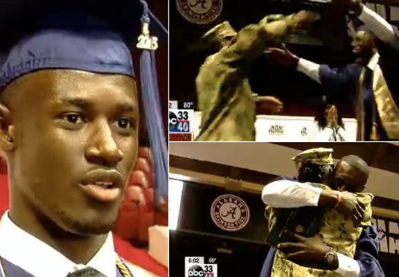 navy web Navy Mum Surprises Her Son At His Graduation