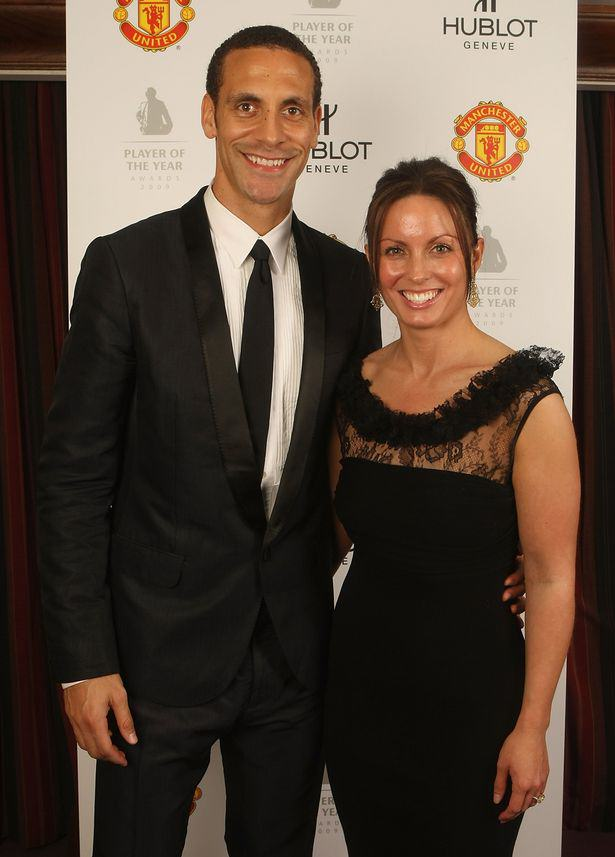 Rio Ferdinand Overwhelmed By Support After Death Of Wife Rebecca rio 1