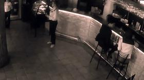 russian Waitress Knocks Man Out After He Gropes Her Bum