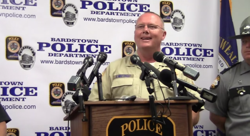 Kentucky Sheriff On Suspect Shot By Deputy: Were Glad That He Is White sheriff