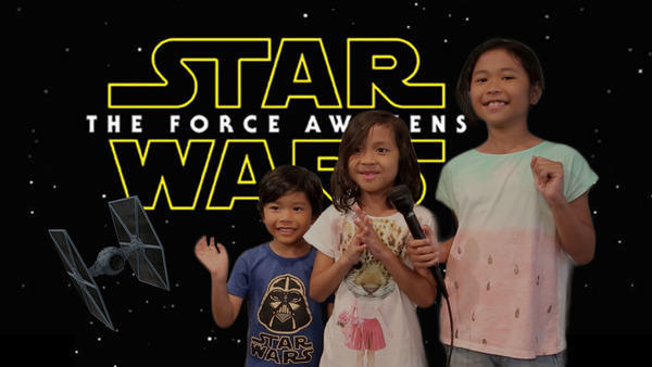 sw Kids Dub Over Star Wars: Force Awakens Trailer, Its Seriously Awesome