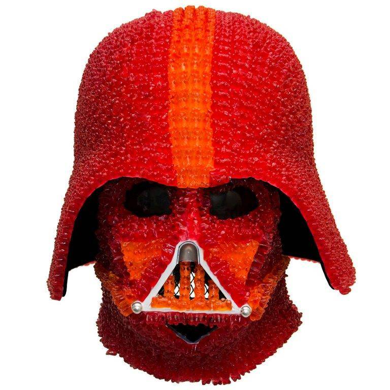 One Genius Has Created A Darth Vader Helmet Made Out Of Gummy Bears vader