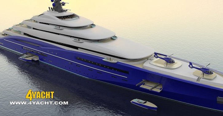 yacht fb Worlds Largest Yacht Is Length Of Two Football Fields, Costs $800 Million