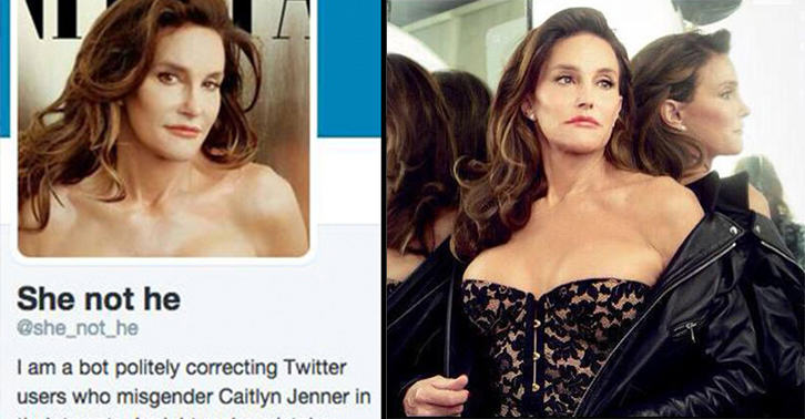 16 If You Misgender Caitlyn Jenner, This Twitter Bot Will Correct You