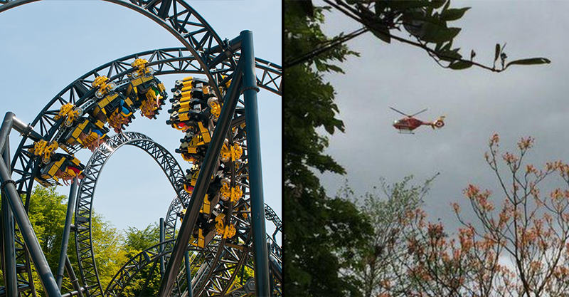 18 Four Injured In Alton Towers Rollercoaster Crash