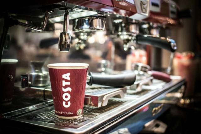 CostaCoffee machine 640x426 High Street Chains Pay Their Workers Below The Living Wage