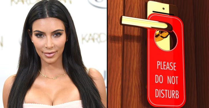A Drunk Naked Women Tried Kicking Down Kim Kardashians Hotel Door TN1100