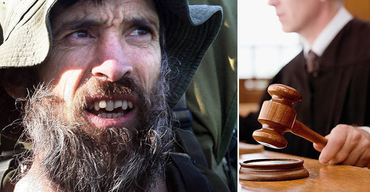 TN133 The Naked Rambler Loses Appeal After Appearing Before The Judge Completely Naked