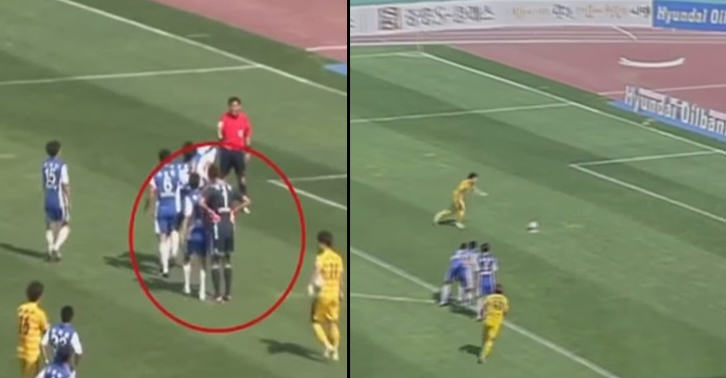 TN146 Goalkeeper Stops Penalty Taker From Scoring, By Ruining The Spot