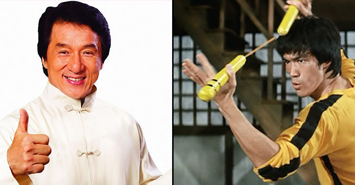 TN155 Who Would Win In A Real Fight, Jackie Chan Or Bruce Lee?