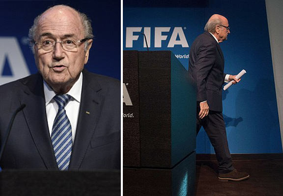 blatter resigns WEB1 FIFA Presidential Election To Replace Sepp Blatter Likely For Mid December