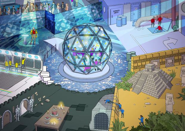 crystal maze 21 The Crystal Maze Is Officially Back After Hitting £500,000 Crowdfunding Target In 8 Days