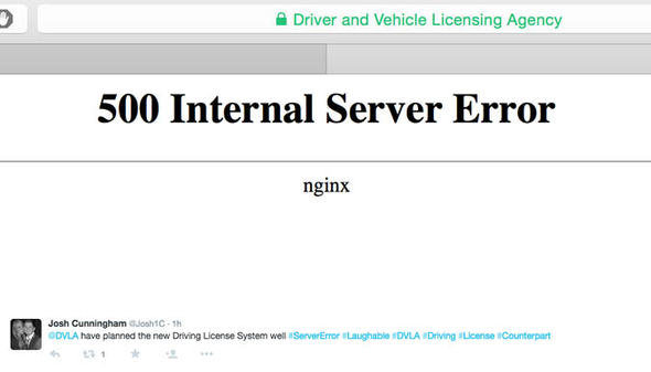 dvla1 Drivers Furious As DVLA Website Crashes As Paper Licences Are Abolished