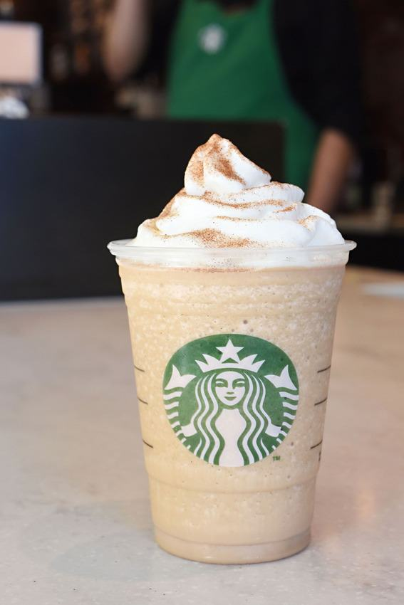 ee1 Starbucks Are Introducing SIX New Frappuccino Flavours For Their Anniversary
