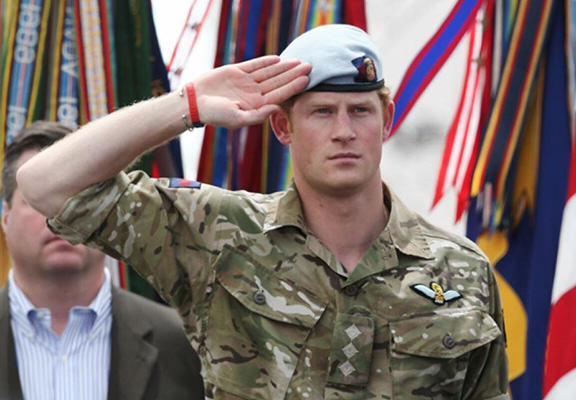 harry army WEB Prince Harry Bows Out Of Army After A Colourful Career