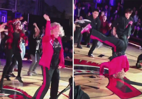 hip hop dance WEB Retiring 60 Year Old Teacher Absolutely Smashes This Dance To Uptown Funk