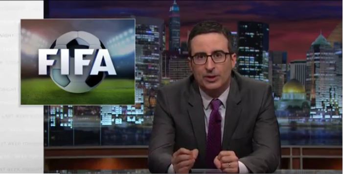 john o fifa John Oliver Takes On Fifa For Second Time And Doesnt Disappoint