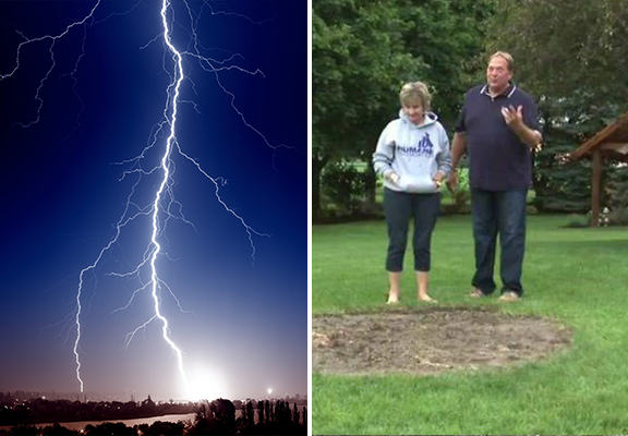 Man Called Rod Hit By Lightning For Second Time lightning rod WEB