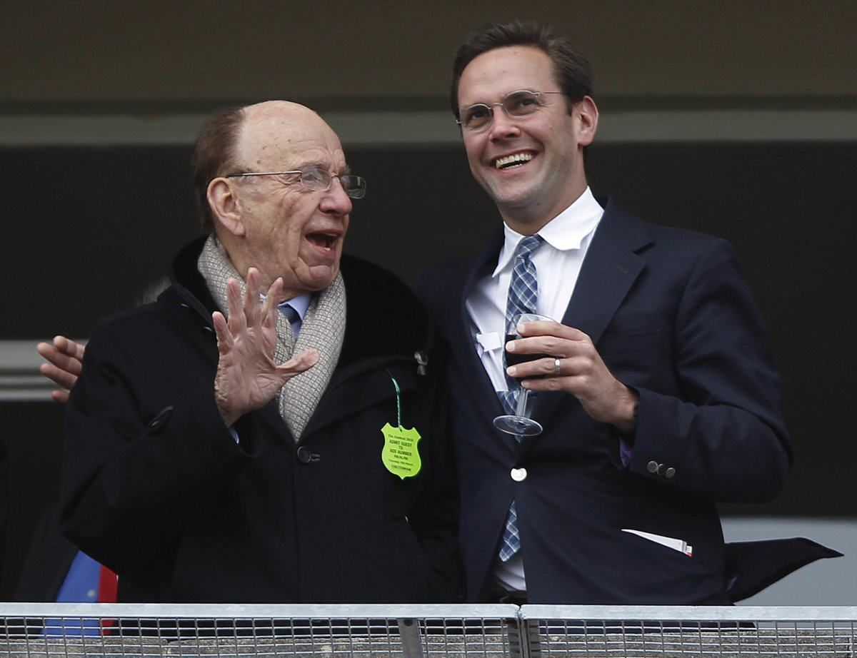 rtr2bsaw Rupert Murdoch Stepping Down As CEO Of 21st Century Fox