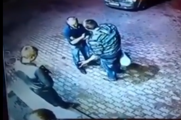 russian men two These Thugs Go And Rob Old Man, Get Schooled Because Hes An Ex Boxer