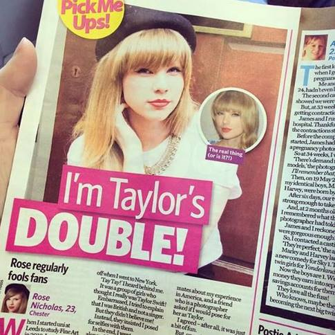 ts This Taylor Swift Lookalike Earns A Fortune, May Be Better Version Of Swift Herself