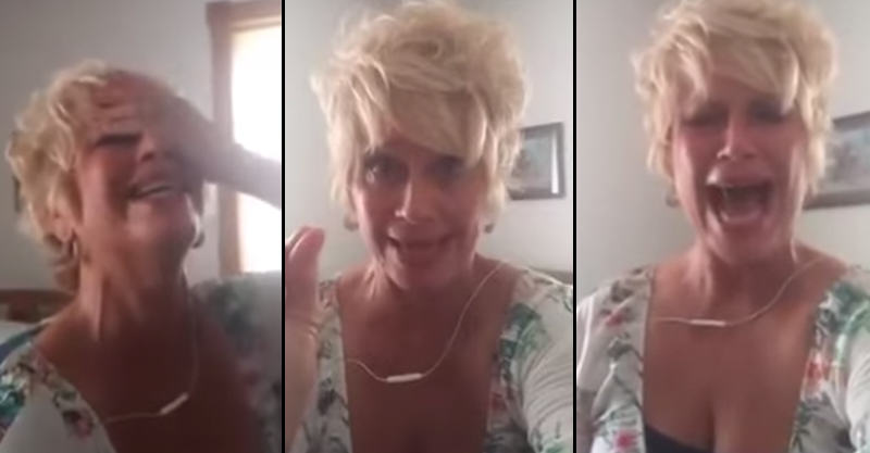 112 Crazy Christian Woman Completely Loses It Over Gay Marriage